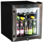 Mini Glass Door 50Litre Bar Fridge Triple Glazed Led