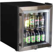 Mini Glass Door 50Litre Bar Fridge Triple Glazed Loaded