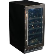 Under Bench Glass Door Beer Fridge For Indoors YC100B