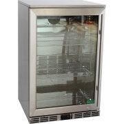 Rhino 1 Door Alfresco Outdoor Glass Door Bar Fridge Model GSP0HL-SS