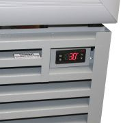 Staycold Sliding 2 Glass Door Commercial Upright Bar Fridge SD1140S Control