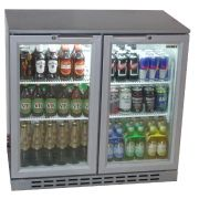 Husky C2-840HY Bar Fridge Full