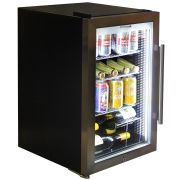 Outdoor Alfresco Bar Fridge Triple Glazed Glass WIne Shelf Options Available