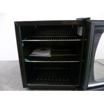 Mini Bar Fridge With Glass Door And Stainless Trim Model CTB68L-SS  Controls