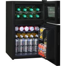 Mini Beer And Wine Fridge Model BCWH69 shelving