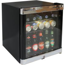 Schmick Tropical Glass Door mini Bar Fridge Model HUS-SC50B