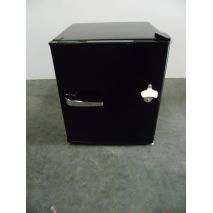 Glass Door Black Bar Fridge Model SC52-CUR led