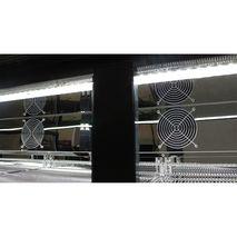 Rhino 3 Sliding Doors Commercial Bar Fridge Led Energy Saving Lighting