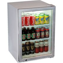 Skope Commercial Glass Door Bar Fridge Model HB80