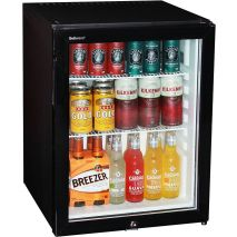 Dellware Silent Triple Glazed Glass Door Bar Fridge Model DW60T