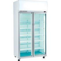 Skope Commercial Glass Door Bar Fridge Model TME1000 front