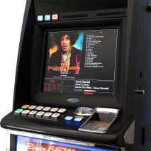 Electronic Juke Box Made from Old Pokie Machine Screen2