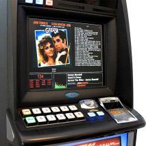 Electronic Juke Box Made from Old Pokie Machine Screen
