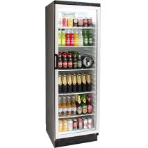 Vestfrost Commercial Bar Fridge With Glass Door and Lock 381Litre Model FKG-371