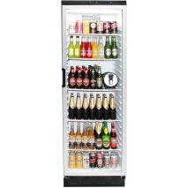 Vestfrost Commercial Bar Fridge With Glass Door and Lock 381Litre Model FKG-371 front