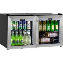 Alfresco Glass Door Triple Glazed Bar Fridge - Wine Shelving Available As Option, See To Right