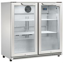 Husky C2 Intelligenza Bar Fridge Front Empty