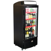 Upright Glass Door Bar Fridge Dellware