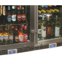 Beer And Wine Alfresco Glass Door Bar Fridge