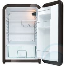 Husky Retro Black 110Litre Bar Fridge