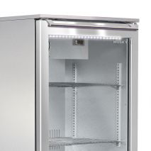 Husky Glass Door Alfresco Bar Fridge With Heated Glass Handle and Light