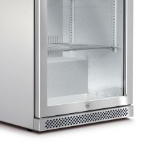 Husky Glass Door Alfresco Bar Fridge With Heated Glass Grill and Lock