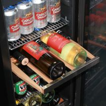 Glass Door Under Bench Bar Fridge With Quiet Operation Rack Out