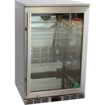 Rhino 1 Door Alfresco Outdoor Glass Door Bar Fridge Model GSP0H-SS