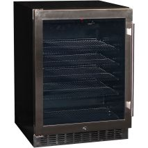 Glass Door Front Venting Beer Fridge With Quiet Operation YC150B Closed