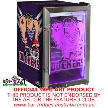 Fremantle Dockers Club Branded Glass Door Bar Fridge