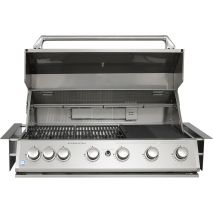 Marine Grade Stainless 316 S/S BBQ Hood Open Depth 650mm