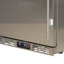 Rhino 1 Door All Stainless Steel Bar Fridge Control Grill