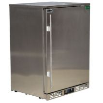 Rhino 1 Door All Stainless Bar Fridge