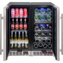 Beer And Wine Matching Quiet Bar Fridge Open