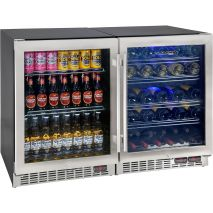 3 Zone Under Bench Beer And Wine Bar Fridge