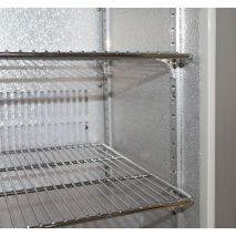 Husky Bar Fridge Heavy Duty Chromed Shelves