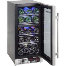 Dual Zone Wine Fridge Holds 27 Bottles