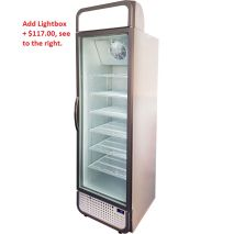 Husky 1 Glass Door Commercial Bar Fridge
