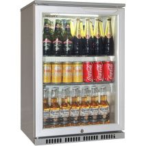 Husky Bar Fridge Adjustable Shelving
