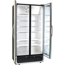 Husky 2 Glass Door Commercial Bar Fridge