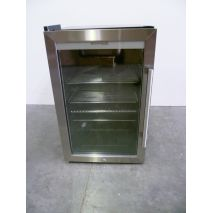 Outdoor Alfresco Bar Fridge Triple Glazed Glass Door And Lock Empty