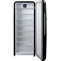 Black Retro Bar Fridge With Plenty Of Room