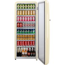 Ivory Retro Bar Fridge Fits Heaps