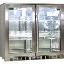 Rhino 2 Door Triple Glass Door Bar Fridge - Brand Parts For Reliable Operation And Excellent Function