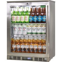 Rhino 1 Door Triple Glass Door Bar Fridge - Low Energy Consumption