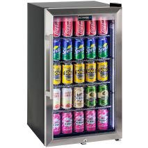 Alfresco Bar Fridge Triple Glazed With Special LOW E Glass To Minimize Condensation.