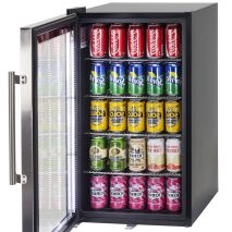 Alfresco Glass Door Drinks Fridge Led