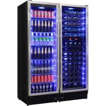Schmick Upright Classy Beer And Dual Wine Fridge Matching Combination - An Excellent Product Selling Well
