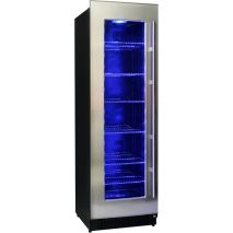 Upright Schmick Glass Door Fridge Empty