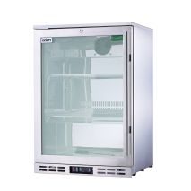Rhino 1 Door Triple Glass Door Bar Fridge Model SG1L-SS Left Hinged